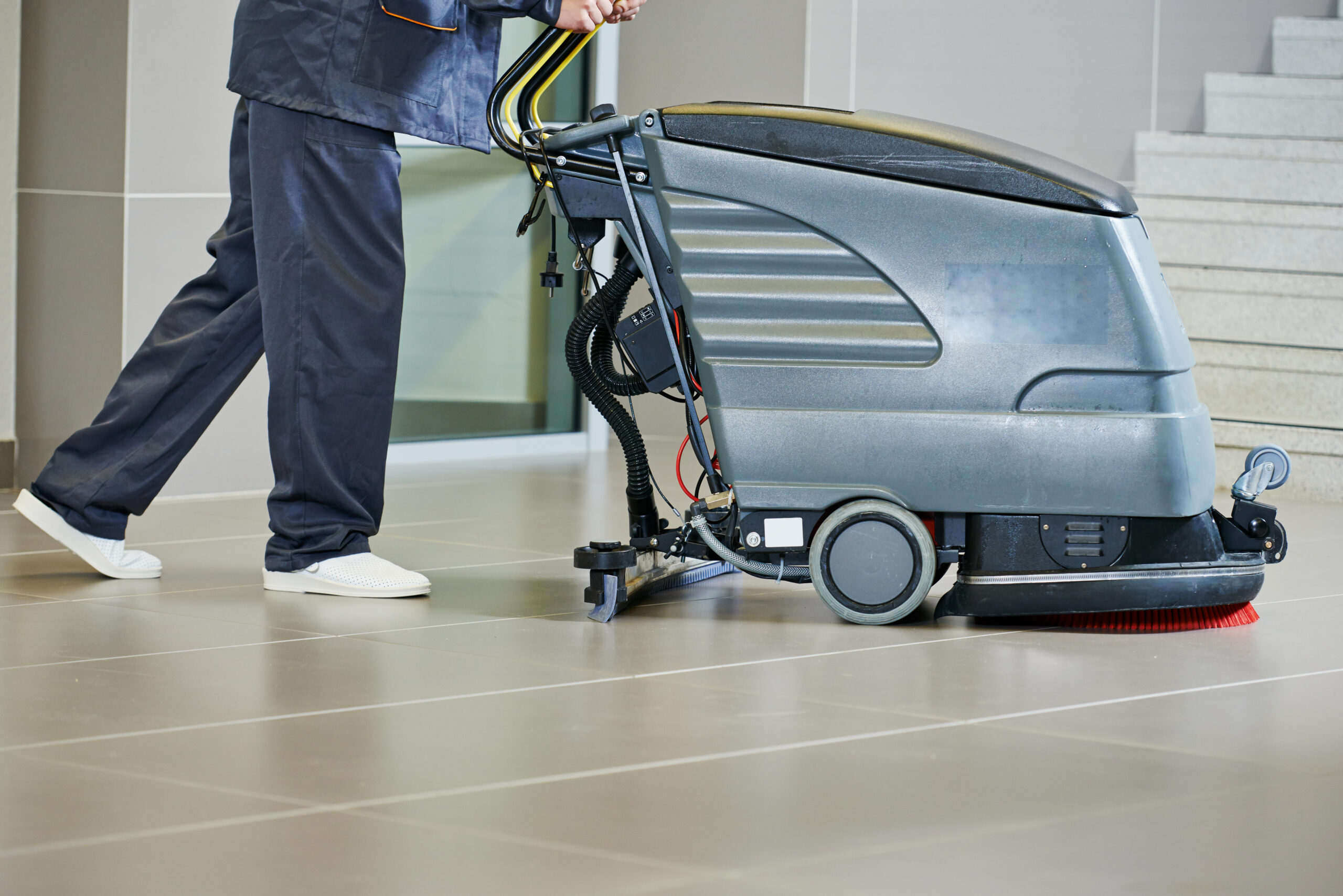 Achieve The Best Commercial Cleaning Results With Pre-Sweeping