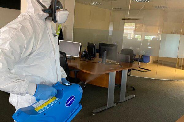 coronavirus fogging